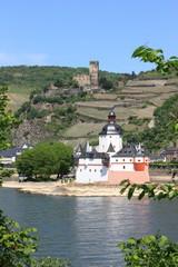 Burg Pfalzgrafenstein, Burg Gutenfels, Kaub  (Mai 2011)