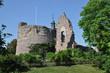 Leinwanddruck Bild - Burg Hayn in Dreieichenhain