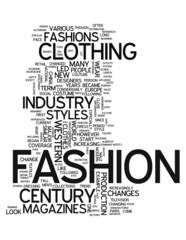 """Word Cloud """"Fashion"""""""