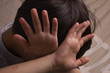 Leinwanddruck Bild - Child abuse