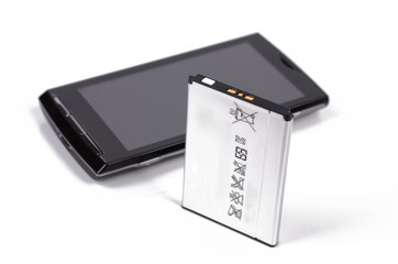 mobile phone and battery