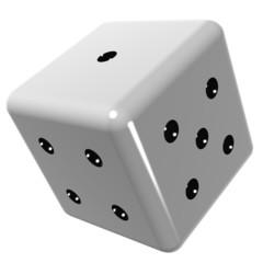 Il dado da gioco - The rolling dice