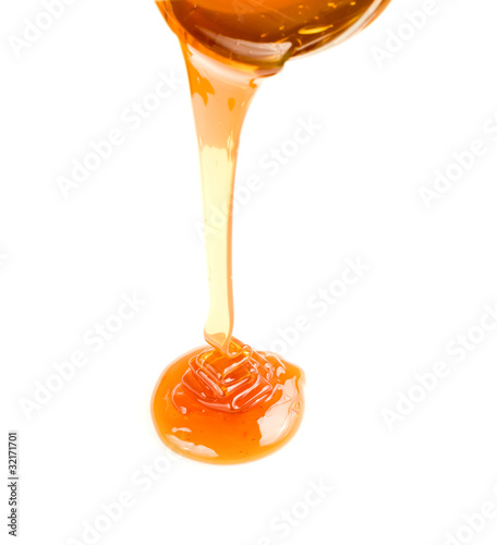 honey flow isolated