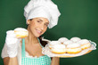 süße berliner bäckerin