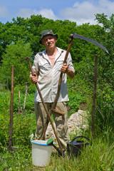 Gardener with tool 2