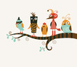 five funny birds - 32174147