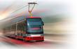 Modern tram - 32174343