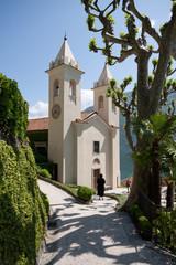 chiesa nella villa del Balbianello - Lenno (Como)