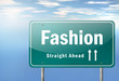 "Highway Signpost ""Fashion"""