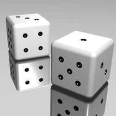 I dadi sullo specchio - The dice on the mirror