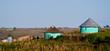 Leinwandbild Motiv rural housing in the eastern cape