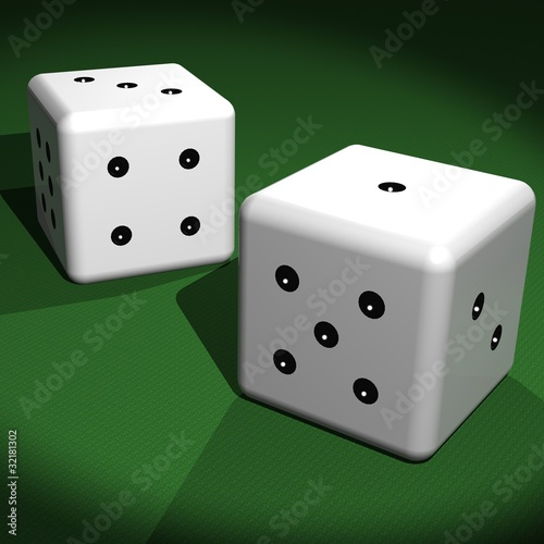 Coppia di dadi - Couple of dice