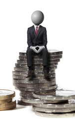 finance épargne trésorerie headman concept