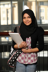 Portrait of Islamic Student