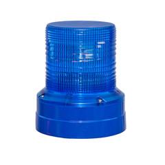 Blaulicht freigestellt vor weißem Hintergrund