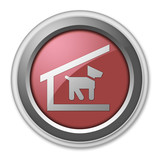Red 3D Style Button