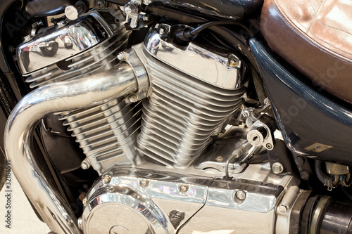 Gasoline engine owned motorcycle