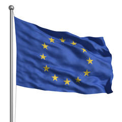 Flag of Europe (Isolated)