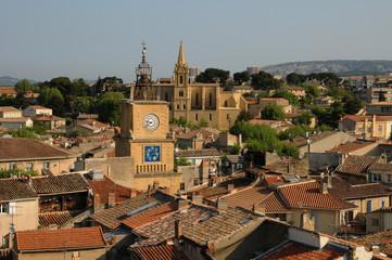 Salon de Provence dans les Bouches-du-Rhône