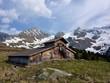 Kuhstall in den Alpen