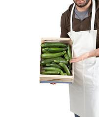Ortolano con zucchine
