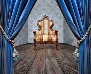 Grunge sofa