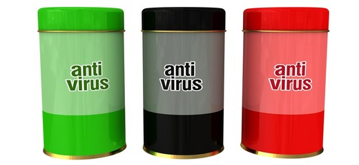 metal antivirus boxes