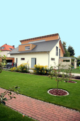 Einfamilienhaus Carport