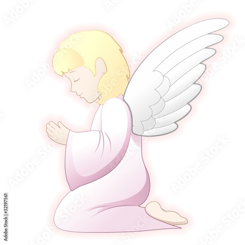 Prima Comunione Angelo-First Communion Angel-2-Vector