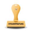 """Steuerprüfung"" Stempel"
