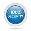 3D_100% Security_blu
