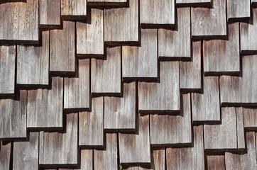 Holz Schindeln