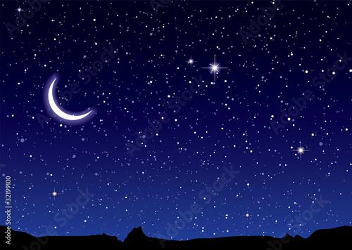 Księżyc w przestrzeni kosmicznej