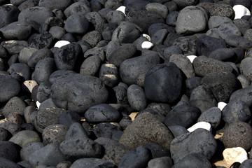Pedras pretas fundo cascais