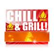 Chill & Grill! Button, Icon