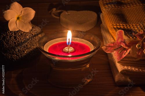 bougie d 39 ambiance institut massage de unclesam photo. Black Bedroom Furniture Sets. Home Design Ideas