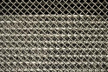 metal vehicle radiator grille background