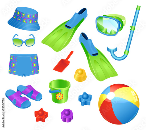 Beach accessories for boy
