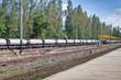 railroad oil tank