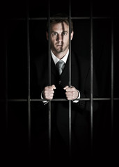 Businessman in prison