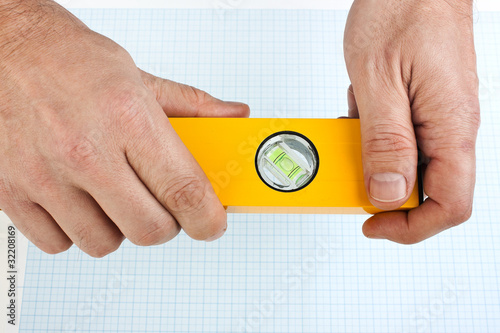 Building tool in the hands