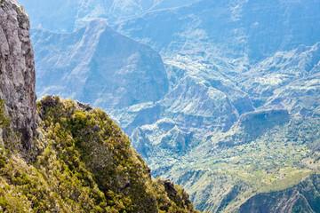cirque de Mafate, île de la Réunion, vue du Maïdo