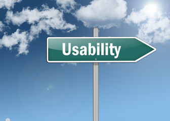 "Signpost ""Usability"""