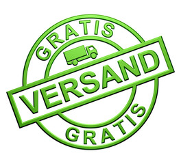 """Gratis Versand"""