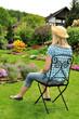 Pause im Garten