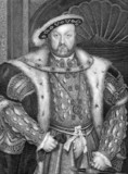 Henry VIII King of England poster