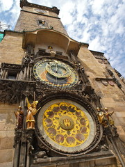 Astronomical Clock Tower in Prague, Czech Republic