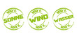 Stempel: 100 % Alternative Energien