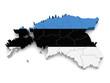 3D Map of Estonia