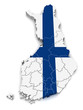3D Map of Finland